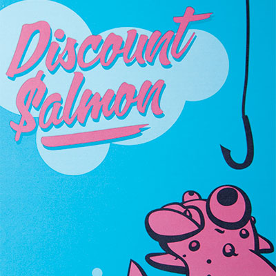 Discount Salmon box design